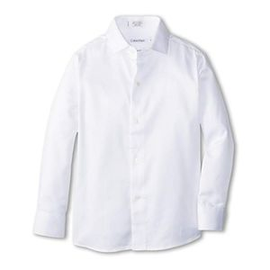 White, child's button up